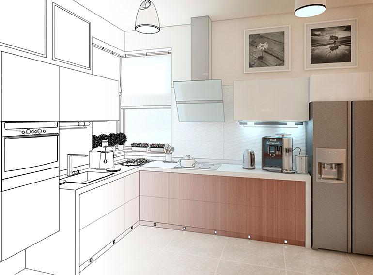 Las 5 ventajas de una cocina a medida