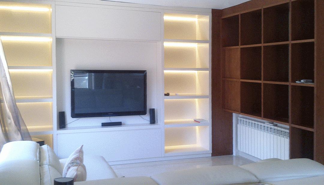 Año Nuevo, televisión nueva… mueble nuevo en el salón